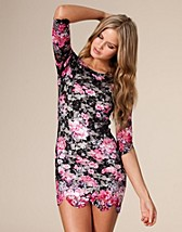 Floral Jersey Dress SEK 249, Club L - NELLY.COM