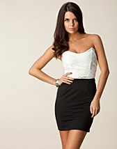 Juhlamekot , Lace Upper Bandeau Dress , Club L - NELLY.COM