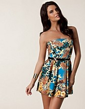 Juhlamekot , Liza Bandeau Printed Dress , Club L - NELLY.COM