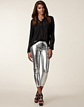 Leggings , Metallic Leggings , Club L - NELLY.COM