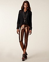 Leggingsit , Metallic Leggings , Club L - NELLY.COM
