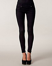 Jeans , Slim Zip Back Jeans , Club L - NELLY.COM