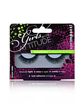 EyeImpact False Eyelashes SEK 59, Girls With Attitude - NELLY.COM