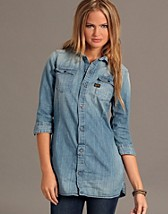 New Western Denim Dress SEK 1299, G-star - NELLY.COM