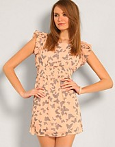 Butterfly Print Dress SEK 279, Paprika - NELLY.COM