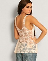 Back Lace Crop Top SEK 229, LOVE - NELLY.COM