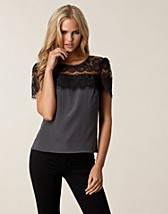 Tops , Kanda Lace Top , Selected Femme - NELLY.COM