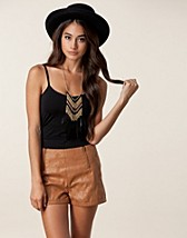 Tops , Surface Long Strap Top , Vila Basic - NELLY.COM