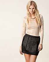 Tops , Officiel L/S O-Neck Top , Vila Basic - NELLY.COM