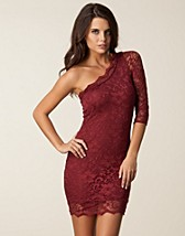 Festkjoler , Lace Dress One Shoulder , John Zack - NELLY.COM