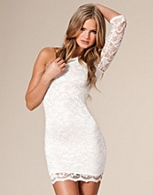 Lace Dress One Shoulder SEK 379, John Zack - NELLY.COM