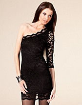 One Shoulder Lace Dress SEK 379, John Zack - NELLY.COM