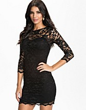 Partykleider , Slash Neck Lace Dress , John Zack - NELLY.COM