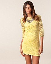 Festkjoler , Slash Neck Lace Dress , John Zack - NELLY.COM
