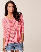 Toppar , Stripe T-shirt , Sisters Point - NELLY.COM