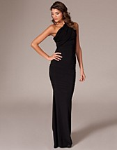One Shoulder Rouch Dress SEK 479, Honor Gold - NELLY.COM