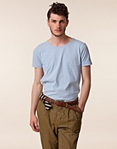 T-shirts , Loose Neck Stripe Tee , Knowledge Cotton - NELLY.COM