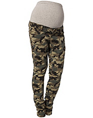 Mama-licious - Military Shelly Slim Jeans
