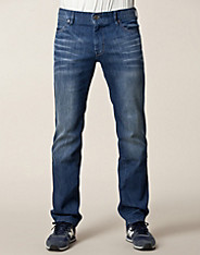 Orange 24 Medium Blue Jeans