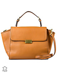 Edie Leather Satchel