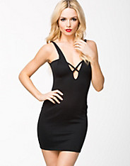 Cross Front Bodycon Dress