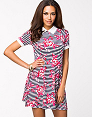Cuff And Collar Dress