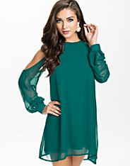 Open Sleeve Shift Dress