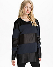 Fluid Polyester Combo Sweater