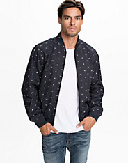 Over Printed Baseball Jacket