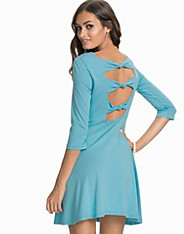3/4 Sleeves Knotted Dress