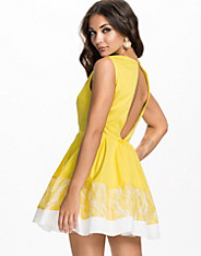Kickout Contrast Skater Dress