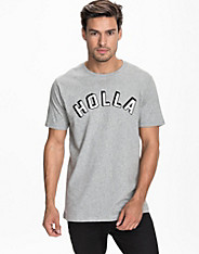 Holla Crew Neck T-Shirt