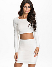 Structure Fabric Crop Top
