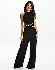 Halter Neck Jumpsuit nly one