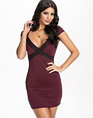 Lace Trim Bodycon