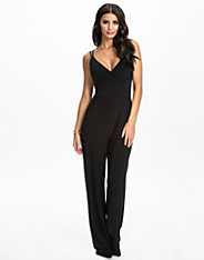 Strappy Wrap Jumpsuit