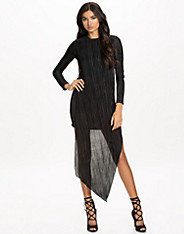Broken Hem Ls Dress