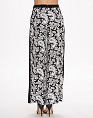 Paisley Party Crepe Wide Trouser