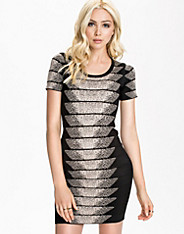 Spotlight Fleck Jaquard Dress