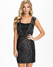Angelfire Sparkle Fitted Dress
