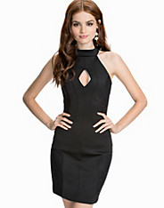 Scubalicious Halter Fitted Dress