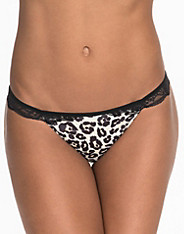 Lace Detail Thong