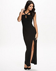 Thigh Split Maxi Dress