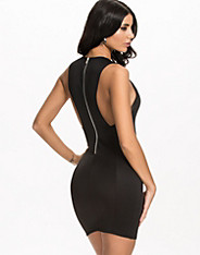 Racer Zip Back Dress