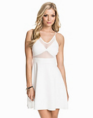 Mesh Front Cami Dress Oh My Love (1912993563)