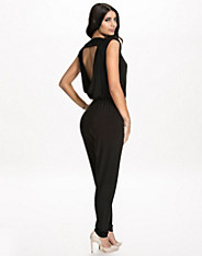 Cowl Neck Back Jumpsuit nly one