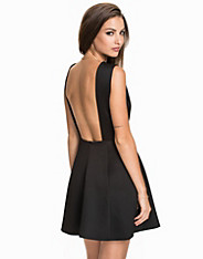 Bare Back Structure Dress