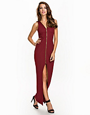 Zip Plunge Dress NLY One (2069146545)