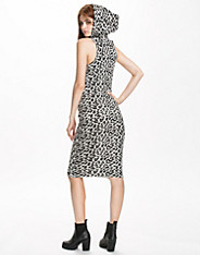 Snow Leopard Knit Dress