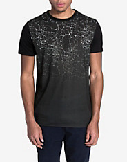yoke-crackle-print-t-shirt
